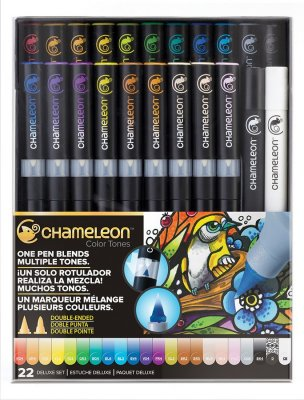 Набор маркеров Chameleon Color Tones Pen Packs 22 штуки