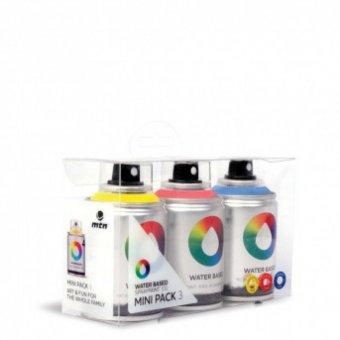 Набор аэрозольных красок MTN Water Based 100 мл 3 цвета (красный, желтый, синий) EX011W0032M купить по низкой цене в москве. В магазине ARTPINOK.RU.