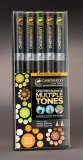 Набор маркеров Chameleon Color Tones Pen Packs Earth Tones 5 штук