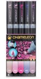 Набор маркеров Chameleon Color Tones Pen Packs Floral Tones 5 штук