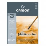 Альбом для акварели Canson Moulin du Roy 300г/м.кв 24x32см 12л Торшон