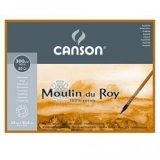 Блок для акварели Canson Moulin du Roy 300г/м.кв 23x30.5см 20л Торшон