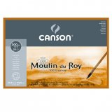 Блок для акварели Canson Moulin du Roy 300г/м.кв 30.5x45.5см 20л Торшон